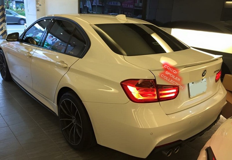 Purchase Painted Bmw 12 16 F30 3 Series Sedan Performance Style Trunk Spoiler Color 300
