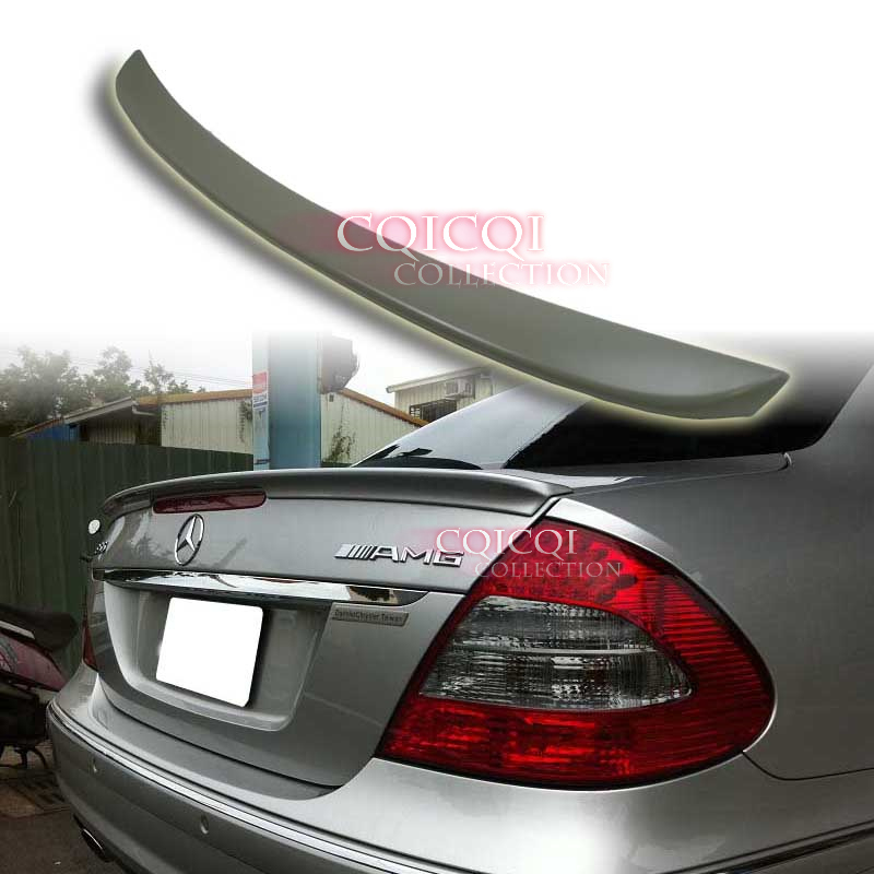 Unpainted MERCEDES BENZ 03-09 W211 E-class Sedan AMG type trunk spoiler ◎