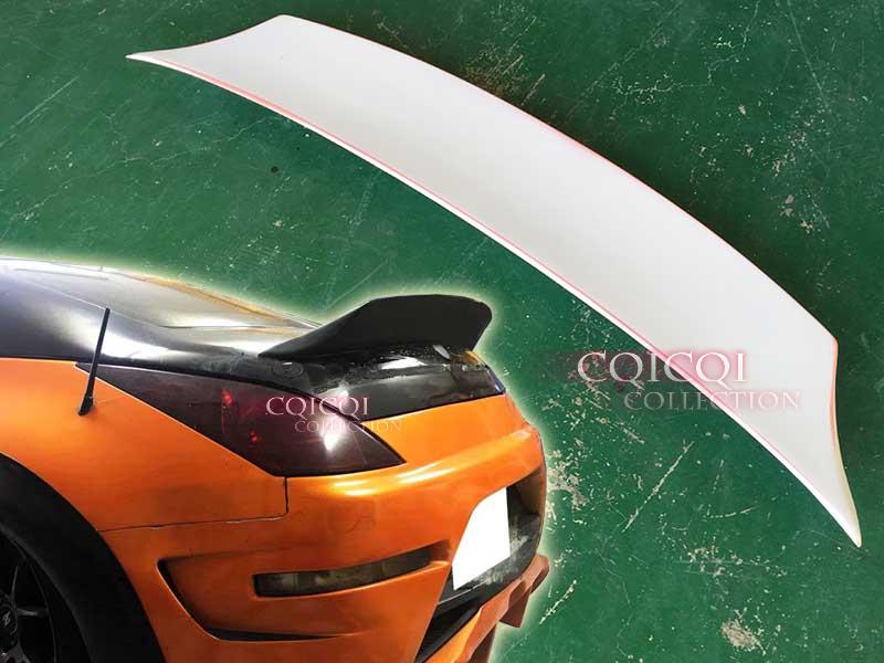 Unpainted ABS For Nissan 350Z Z33 OE Type Rear Trunk Spoiler 03-08