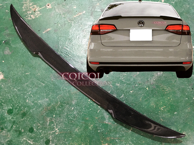 Carbon Fiber VW 2011-2017 JETTA MK6 Sedan trunk spoiler S SE GLI TDI Sport ◎